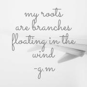 floating poem